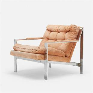 Cy Mann, Lounge chair, model 232