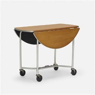 Warren McArthur, Drop-leaf rolling table