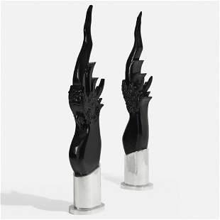 Modern, Sculptures, pair