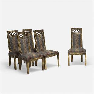 James Mont, Dining chairs, set of five