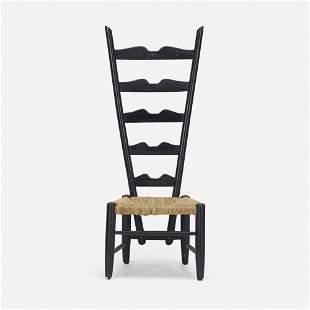 Gio Ponti, Fireside ladderback chair