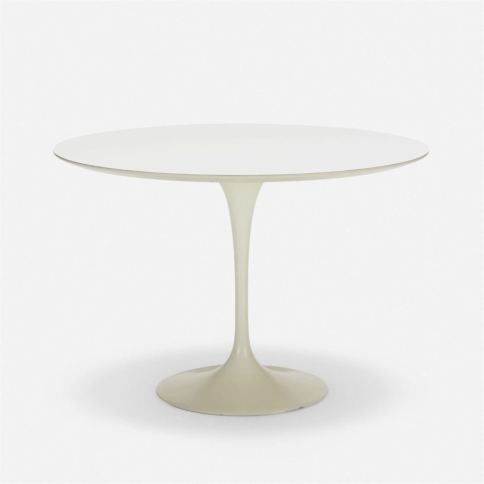 Eero Saarinen, Tulip dining table, model 173F