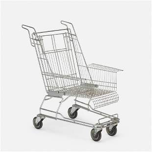 In the manner of Tom Sachs, Shopping Cart chair