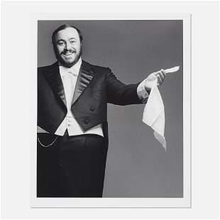 Francesco Scavullo, Luciano Pavarotti