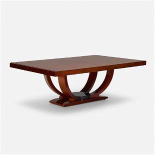 Karl Springer, Art Deco Style dining table