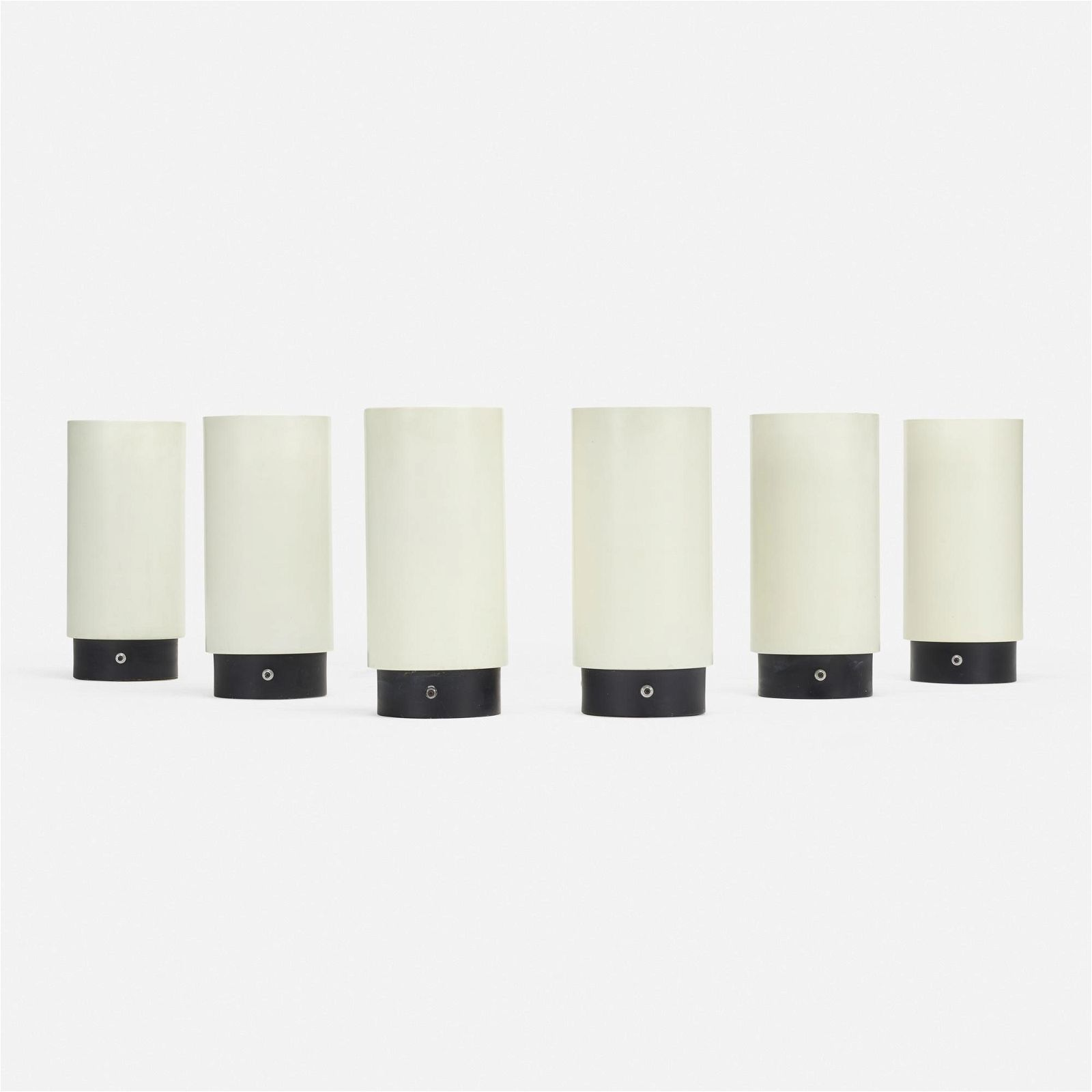 Gerald Thurston, Canister lamps, set of six