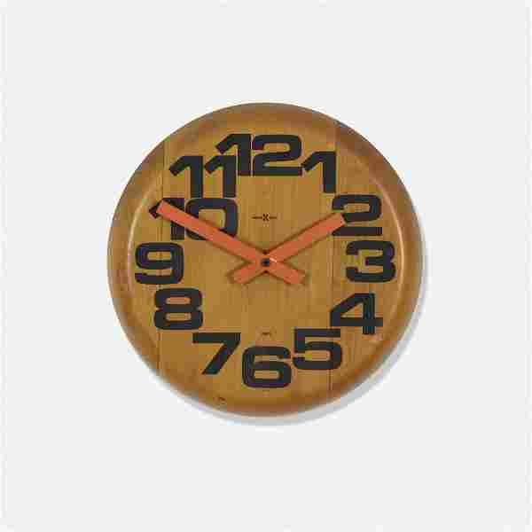 Arthur Umanoff, Wall clock, model 622-767
