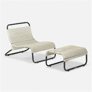 Van Keppel and Green, Lounge chair and ottoman