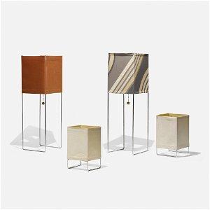 Gregory van Pelt, Wireworks lamps, set of four