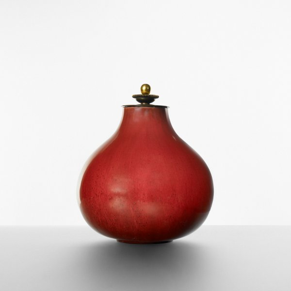 117: Axel Salto lidded vessel