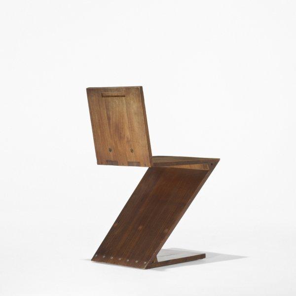 505: Gerrit Rietveld Zig-Zag chair