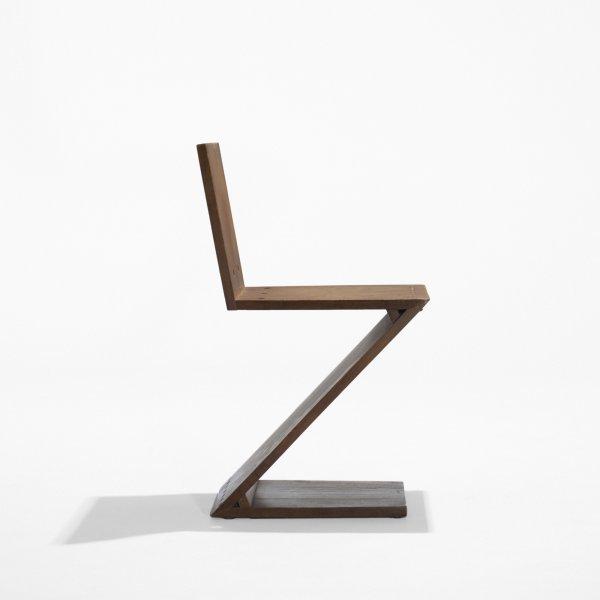 506: Gerrit Rietveld Zig-Zag chair