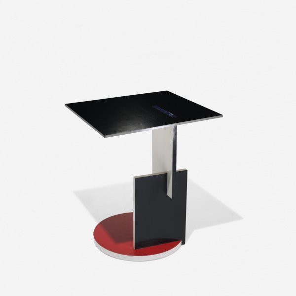 510: Gerrit Rietveld Schroeder House occasional table