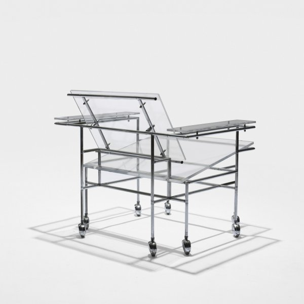 517: Paul Rudolph rolling lounge chair