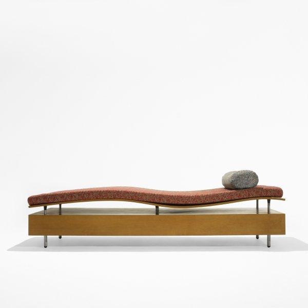 523: Maya Lin Longitude chaise