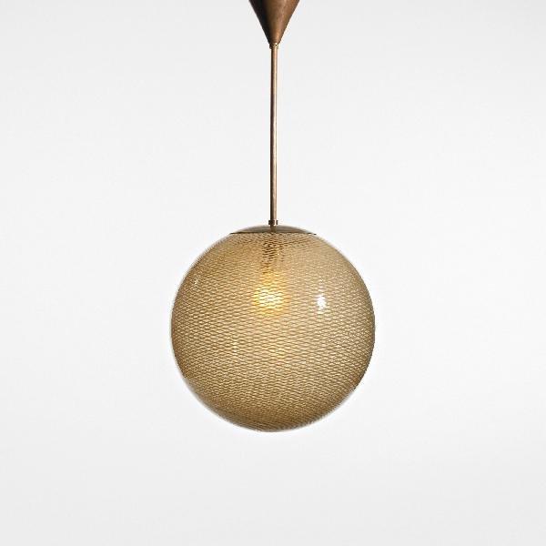 100: Carlo Scarpa Reticello chandelier