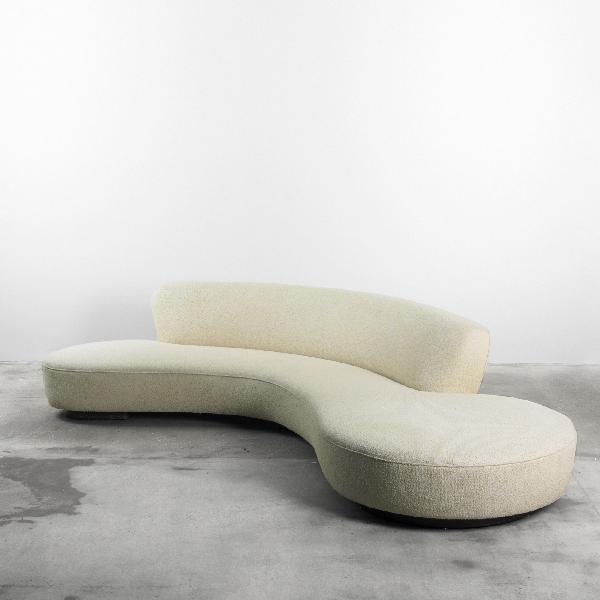 102: Vladimir Kagan Serpentine sofa
