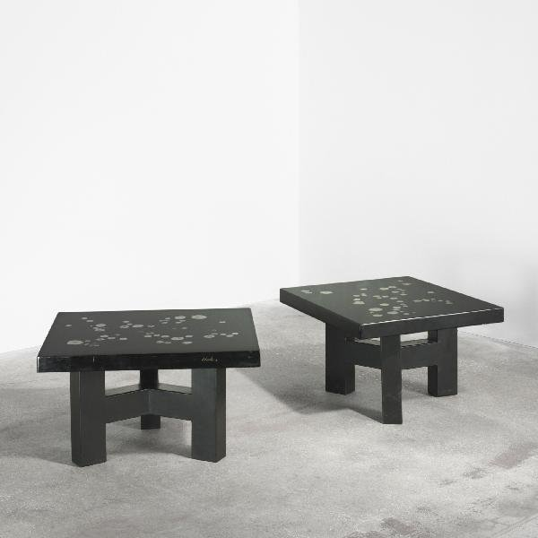 109: Ado Chale coffee tables, pair