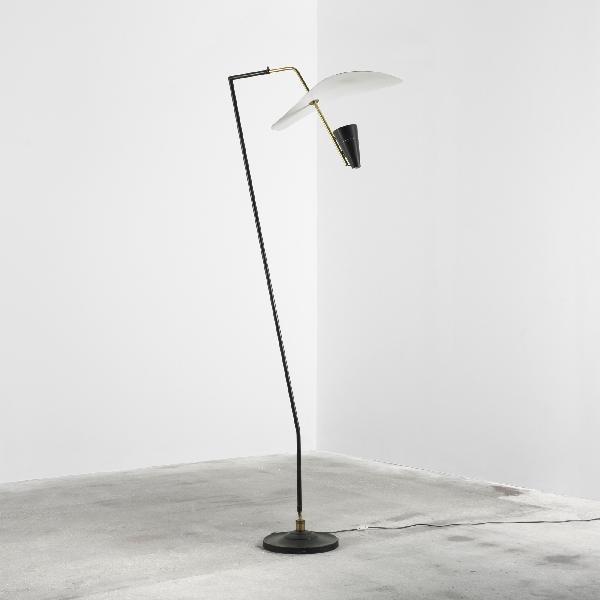 119: French floor lamp