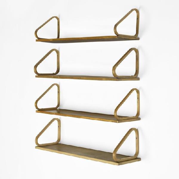 100: Alvar Aalto wall shelves, set of four