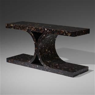 Karl Springer, JMF console table