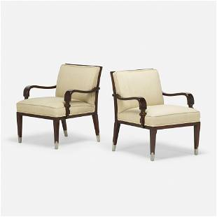 Tommi Parzinger, Lounge chairs, pair