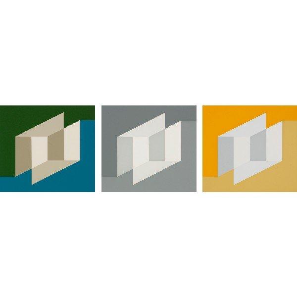 102: Josef Albers Never Before (three works)