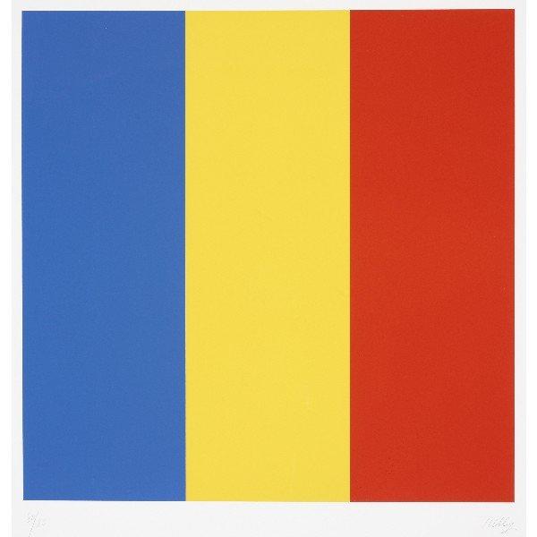 104: Ellsworth Kelly Blue/Yellow/Red