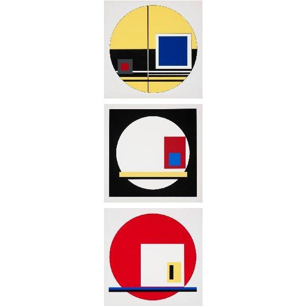 107: Jean Gorin untitled (three works)