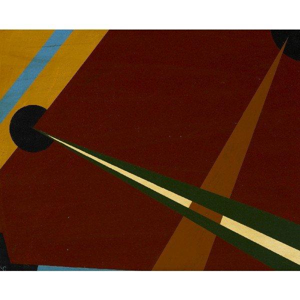115: Albert Eugene Gallatin Composition #334