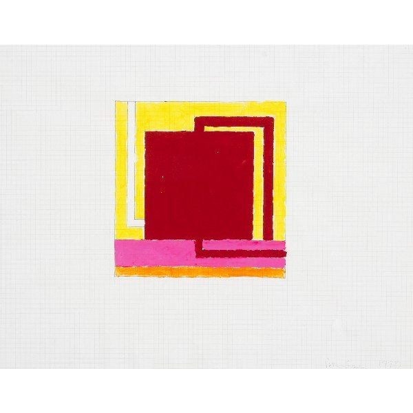 120: Peter Halley untitled (Study)