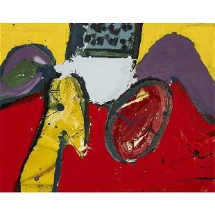 178: Alan Davie Yellow Bird, Red Egg