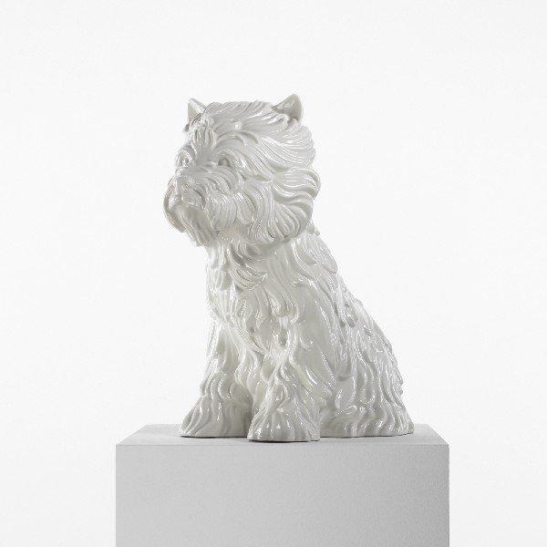 331: Jeff Koons Puppy (Vase)
