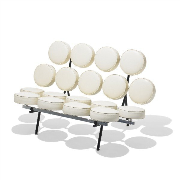 505: Nelson & Associates Marshmallow sofa, model 5670