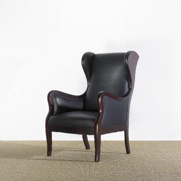 101: Frits Henningsen lounge chair