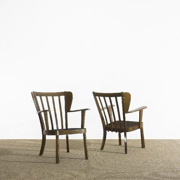 121: Søren Hansen chairs model 2252, pair