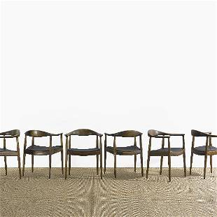161: Hans Wegner The Chairs, set of twelve
