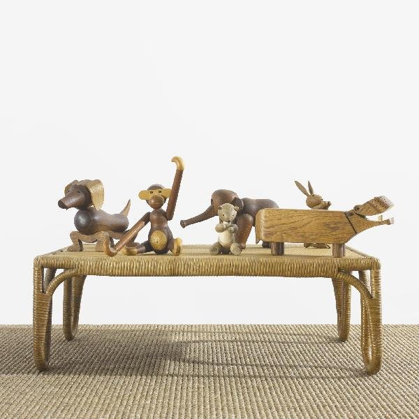 271: Kay Bojesen collection of six animals