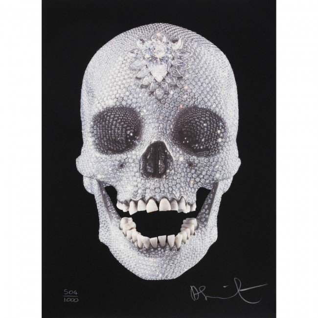 100: Damien Hirst For the Love of God
