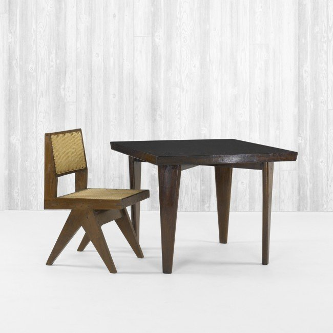106: Pierre Jeanneret dining table