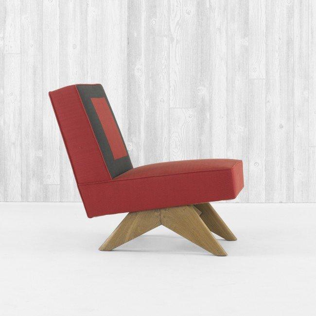 108: Pierre Jeanneret lounge chair