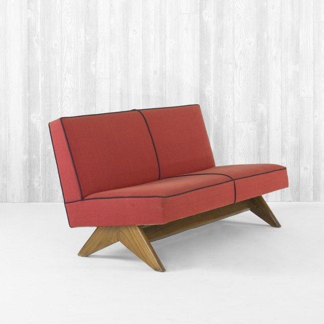 109: Pierre Jeanneret sofa