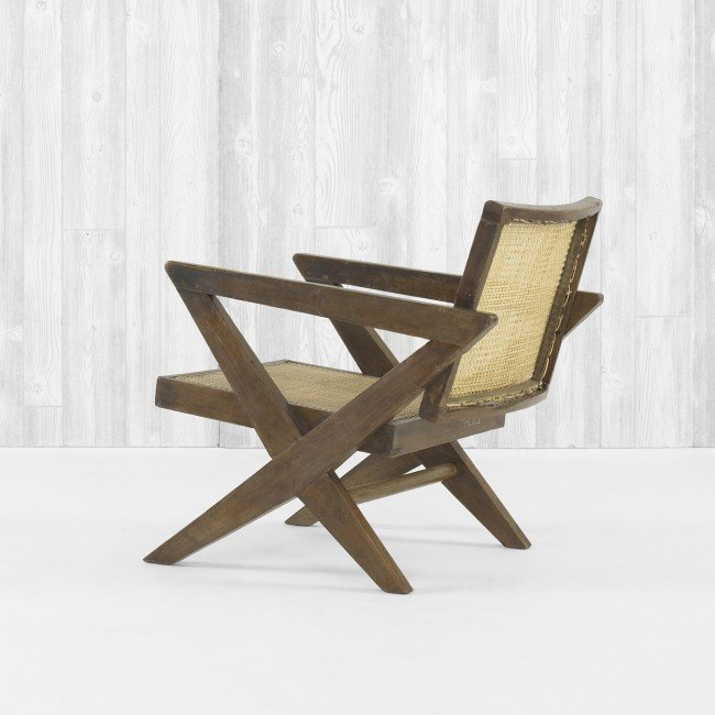 111: Pierre Jeanneret lounge chair from Chandigarh