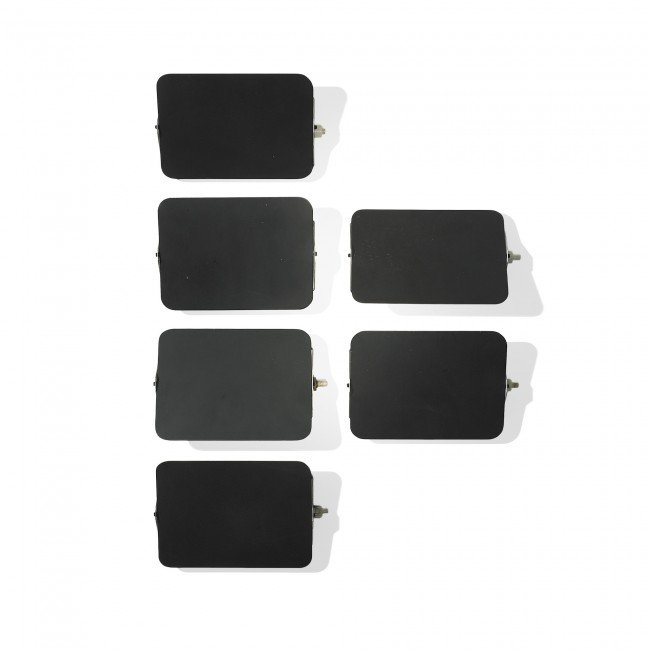115: Charlotte Perriand wall sconces, set of six
