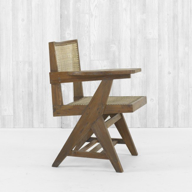 120: Pierre Jeanneret writing chair from Chandigarh