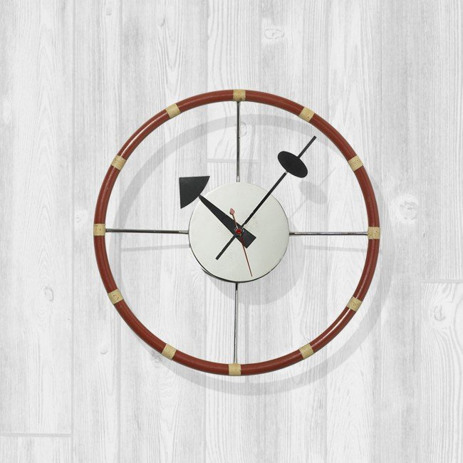 386: George Nelson & Associates Steering Wheel clock