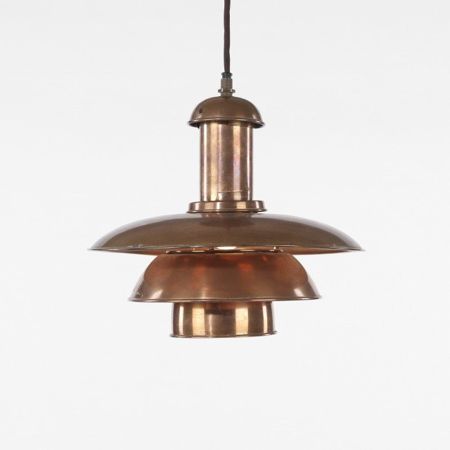 107: Poul Henningsen PH 3/3 hanging lamp
