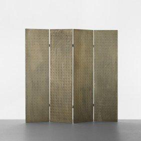 102: Mats Theselius folding screen