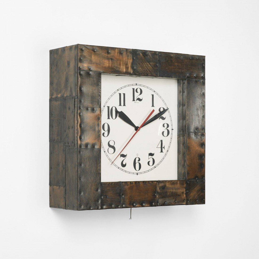 106: Paul Evans wall clock