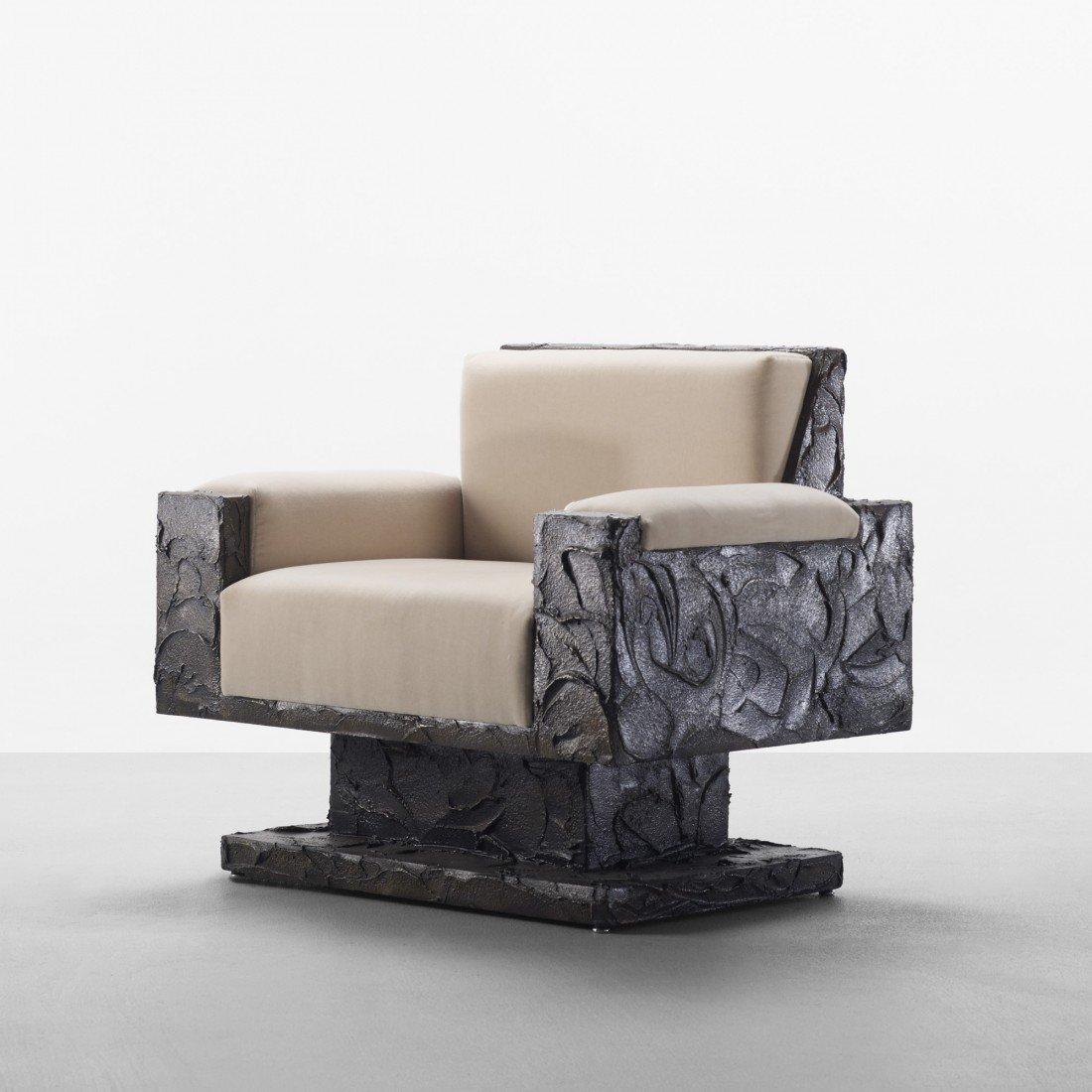 107: Paul Evans armchair